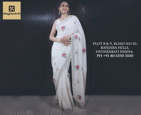"Stunning #RakulPreet in a #PurviDoshi saree ~ ""Fresh as morning's dew distill'd on flowers."" ‪#‎weloveshopping‬ ‪#‎girls‬ ‪#‎fashion‬ ‪#‎style‬ ‪#‎fashionista‬ ‪#‎fashionbloggers‬ ‪#‎fashionable‬ ‪#‎stylish‬ ‪#‎stylebloggers‬ ‪#‎stylegram‬ ‪#‎designer‬ ‪#‎photo‬ ‪#‎marriage‬ ‪#‎wedding‬ ‪#‎fun‬ ‪#‎bridal‬ ‪#‎summer‬ ‪#‎resort‬ ‪#‎photographer‬ ‪#‎shakespeare‬"