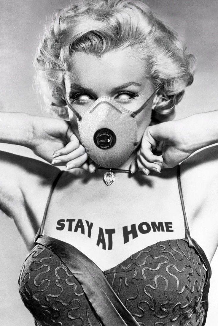 Marilyn Monroe Cvronavirvs Stay At Home Marilyn Monroe Marilyn Monroe Photos Marilyn