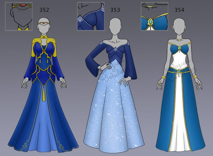 Adoptable: Clothing: 352-354 (OPEN) by Biological-Solutions