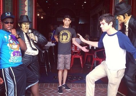 Caption This Pic of Dylan O'Brien's Dance Party!