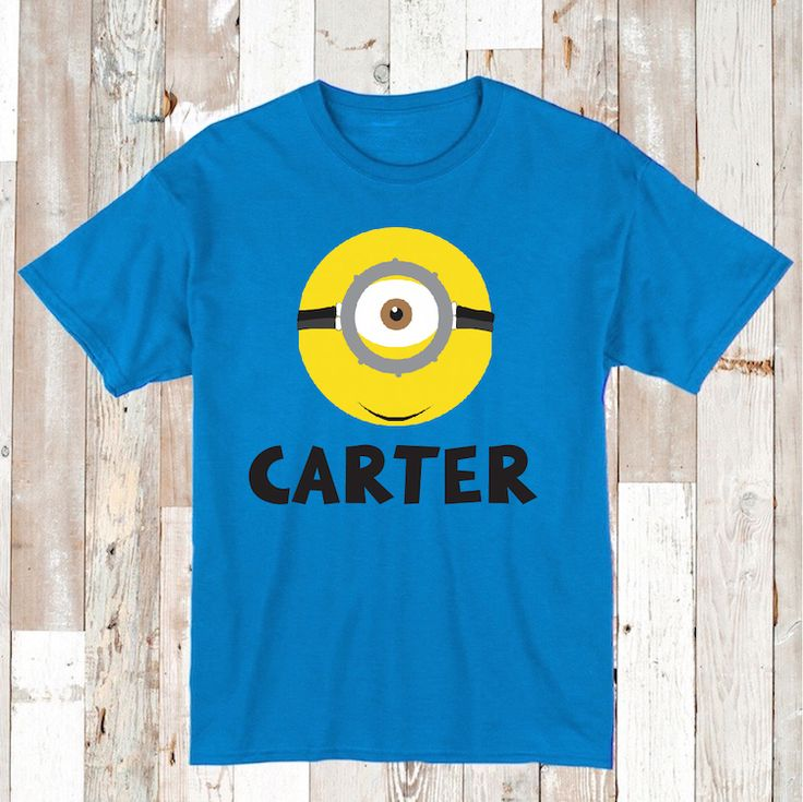 Personalized Minions T-Shirts , Onesies, or Bibs _ Custom Minions Clothes _ Minions Birthday T-shirts _ Minion Tees _ Prime Decals