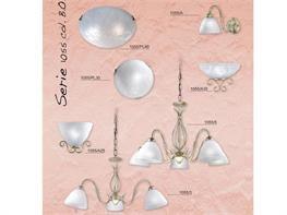 Lampadari in ferro battuto collezione Lux1055