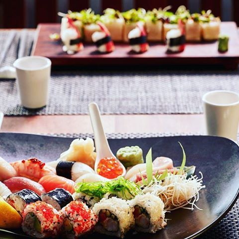 When you visit UMI Japanese & Sushi Bar Restaurant make sure you bring your appetite!🍙🍤 #grecianpark #dining #cyprus #sushitime🍣