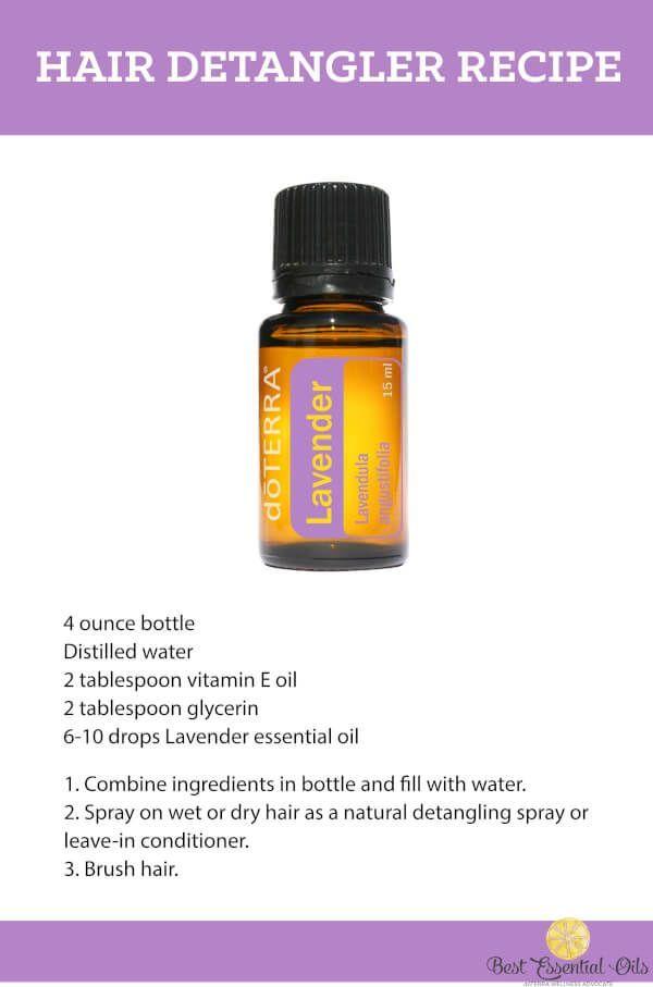 doTERRA Hair Detangler Recipe | Natural Health & Living ...