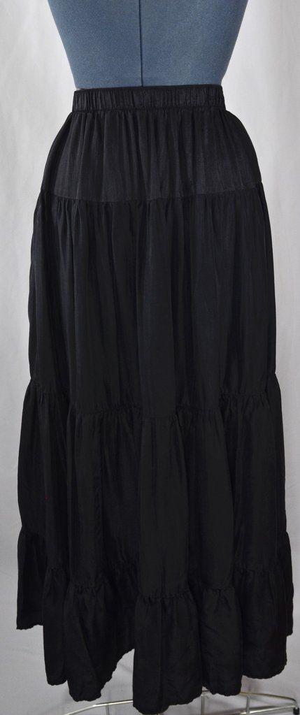 Spenser Jeremy Silk Broomstick Skirt
