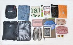 9 consigli per fare la valigia perfetta + 14 per il bagaglio a mano