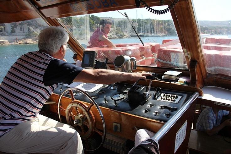 Croatia - Traveling by boat in Omiš #croatia #chorwacja #omis