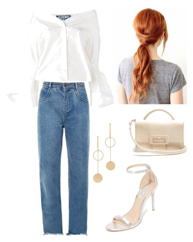 """""""Style #5"""" by lisawijaya ❤ liked on Polyvore featuring Jacquemus, Chloé, Rachel Zoe, Maison Margiela and Cloverpost"""