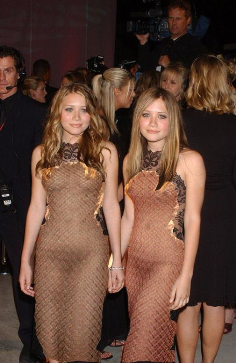 Naked the olsen twins