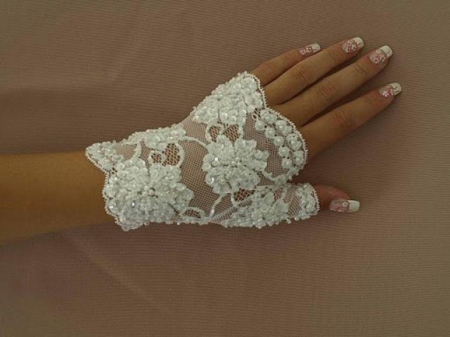 Свадебные перчатки - girls-svadba.ru