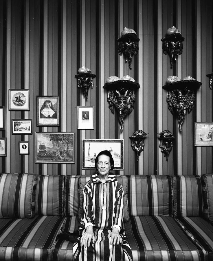 """Diana Vreeland's quick wit and infallible sense of style are a constant inspiration. She got us all wondering, """"Why don't you…?"""""""