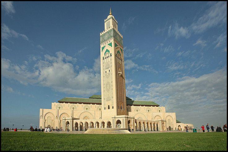 Casablanca The Hassan II Mosque or Grande Mosquée Hassan II