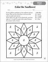 Free Printable Multiplication Color By Number Worksheets ...