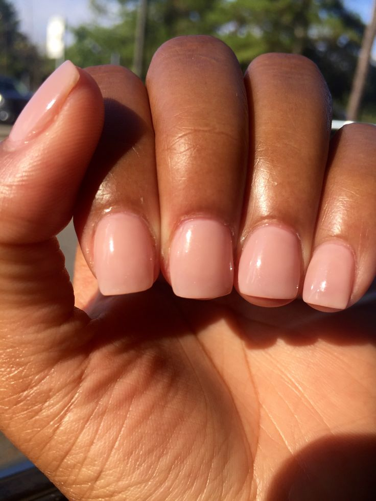 Loving This Nude On My Brown Skin Opi Quot Put It In Neutral Quot Nails In 2019 Neutral Nails Nail