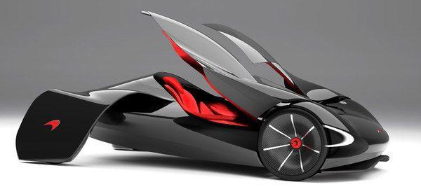 McLaren JetSet - автомобиль будущего от Marianna Merenmies - Mega Obzor