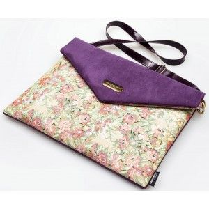 "Lola Victoria Design - etui torba laptop 13"" PURPLE"