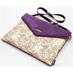 """Lola Victoria Design - etui torba laptop 13"""" PURPLE"""