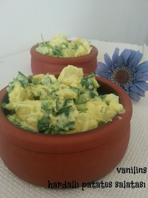 Vanilins: Hardallı patates salatası
