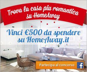 Aiutaci  a trovare la Casa Vacanza più romantica su HomeAway! Puoi vincere un buono di €500 da spendere per prenotare la tua prossima casa vacanza su HomeAway.it.  Partecipa ora http://a.pgtb.me/NV29XR