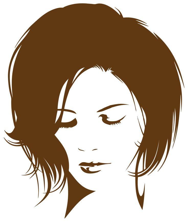 Silhouette Portrait de femme 60 decojcd@gmail.com