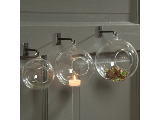 Glass bubble. For that hanging terrarium I'll make one these days.