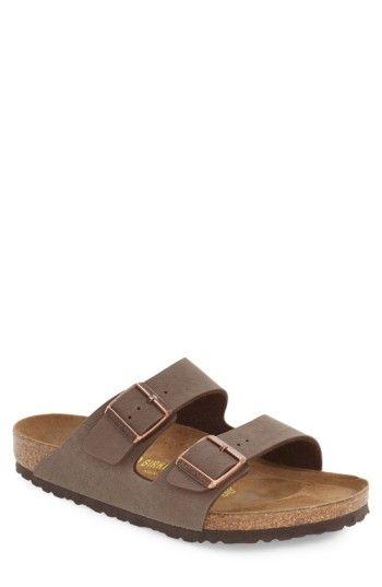 BIRKENSTOCK MEN'S BIRKENSTOCK 'ARIZONA' SLIDE SANDAL. #birkenstock #shoes #