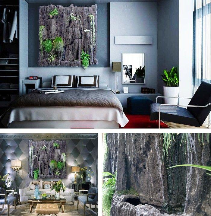 jardines verticales como cuadros para interior