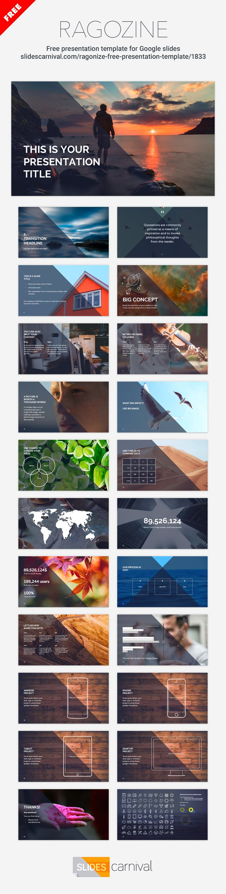 17 best ideas about presentation templates inspire your audience your presentation simply by using this photographic template whether