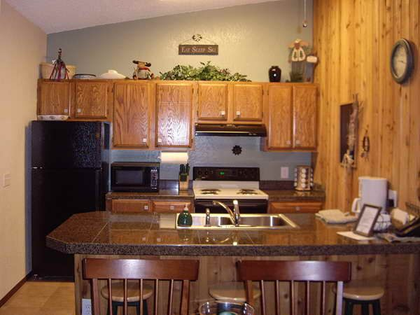 Using Decorating Ideas Kitchen With Black Appliances : Kitchen With Black  Appliances By Design Fridge