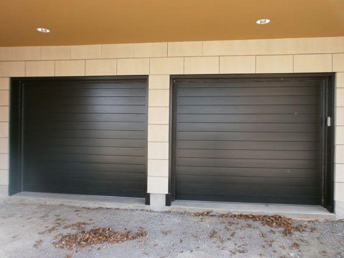 1000 id es propos de portes de garage sur pinterest for Porte bois exterieur garage