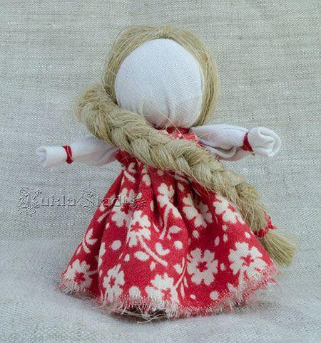 Делаем куклу-оберег Счастье, этап 30
