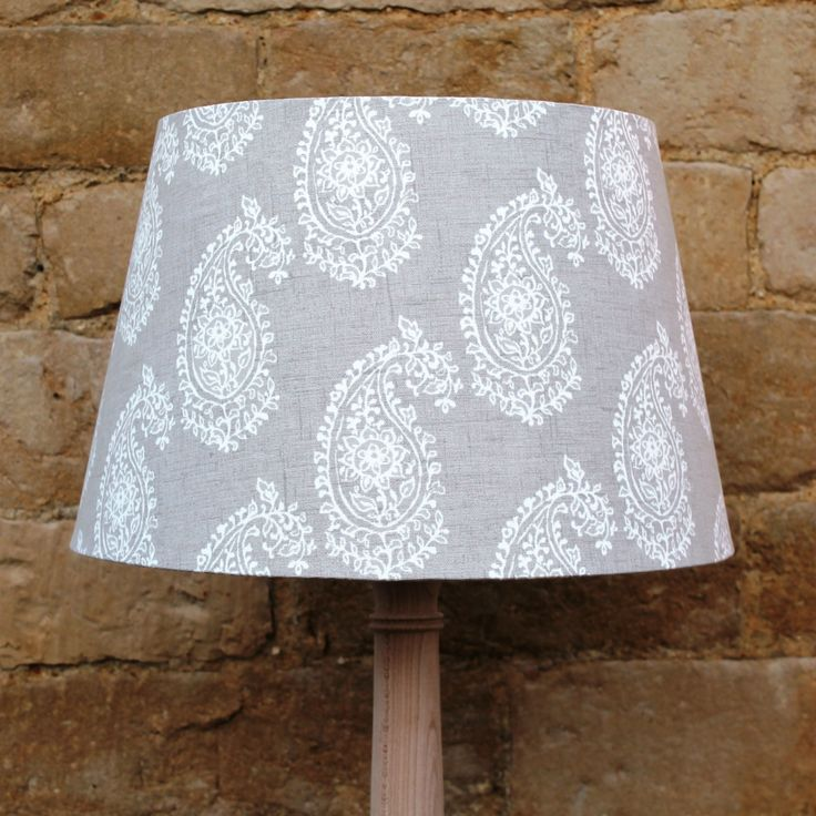 54 best quirky lamp shades images on pinterest lamp shades paisley beige linen french tapered light shade stylish and sophisticated designs serendipityhomeinteriors aloadofball Choice Image