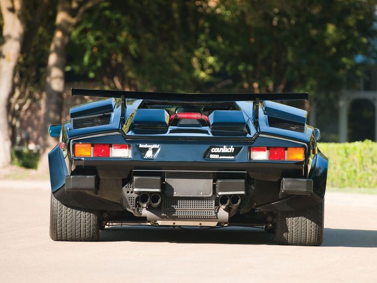 Lamborghini Countach 5000 Qv Car Photos Pinterest