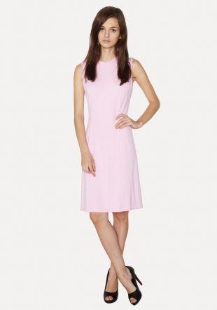 Jasno różowa sukienka - Sukienki retro - retro me