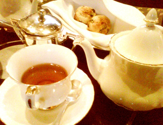 High Tea, at Dhamawangsa Hotel, Jakarta