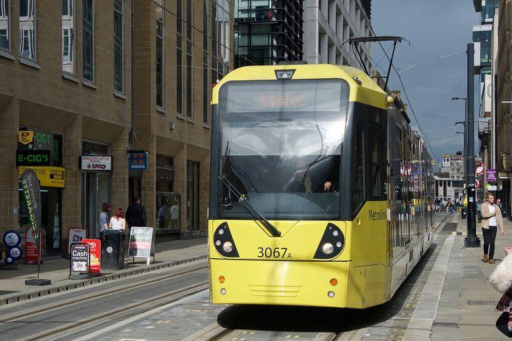 Mosley Street. Manchester Metrolink.
