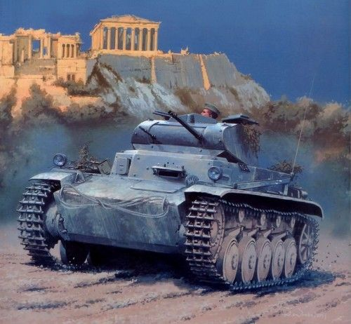 1941 Panzer II Acropolis - Jaroslaw Wróbel