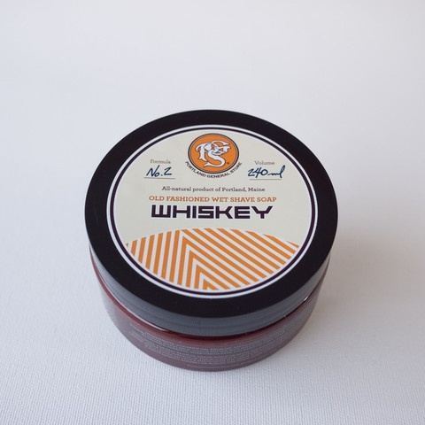 Portland General Store - Whiskey Old-Fashioned Wet Shave Soap