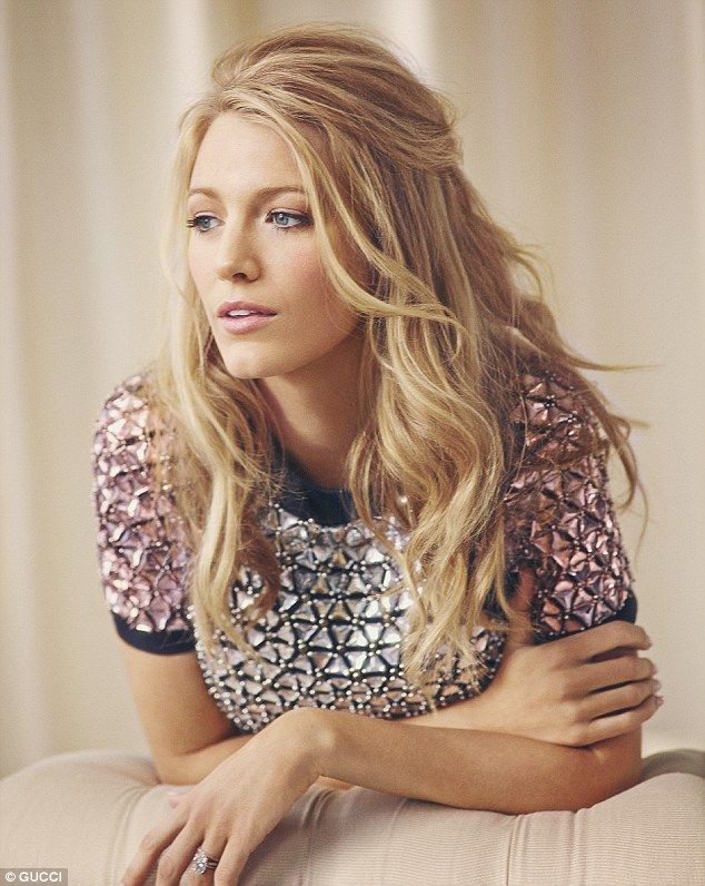 Blake, who is expecting her first child with Ryan Reynolds, says the festive season is all...