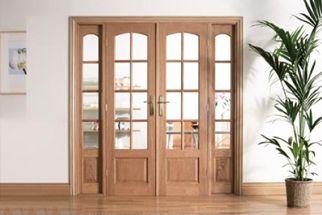 dubbele klassieke binnendeuren