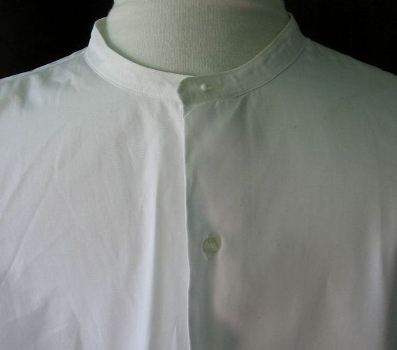 Find mens collarless shirts at ShopStyle. Shop the latest collection of mens collarless shirts from the most popular stores - all in one place. Skip to Content Wales Bonner Collarless Cotton Shirt - Mens - White $ Get a Sale Alert Free Delivery.