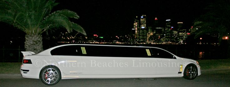 stunning HSV limo Wedding getaway