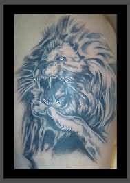 Roaring Lion Tattoo | Roaring Lion Tattoo Image
