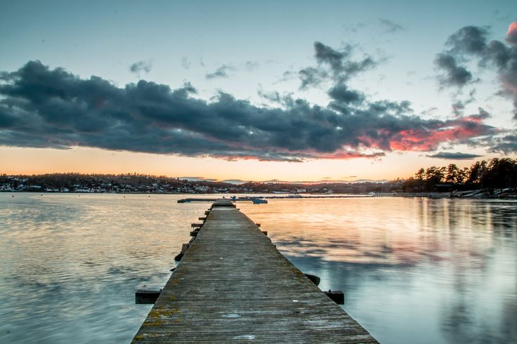 Sunset Østre Nes, Sandefjord by Ernst Erdmann on 500px