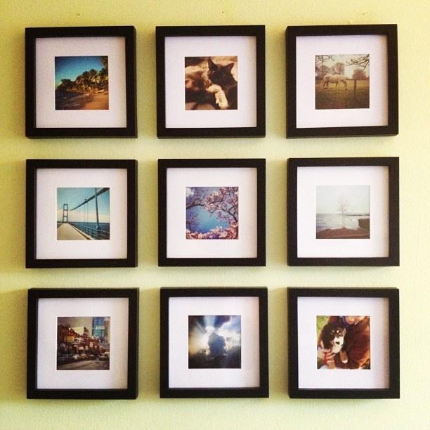 16 best photo frames images on pinterest picture frame for 5x5 frames ikea