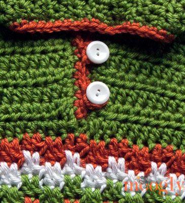 Leaping Crochet Baby Hoodie - moogly