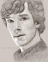 Sherlock Sketch by Feyjane