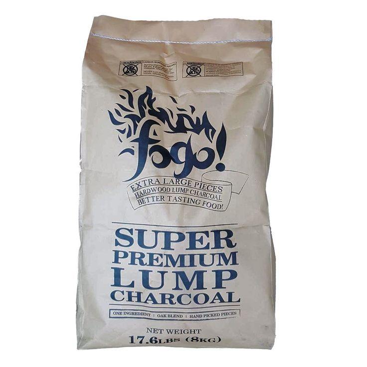 Fogo! 17.6-pound Super Lump Premium Hardwood Charcoal Bag - FogoCharcoal.com - 1
