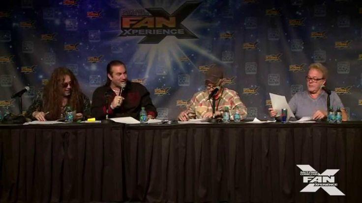 Voice Actors Jim Cummings, Rob Paulsen & Jess Harnell at 2015 FanX (Offi...