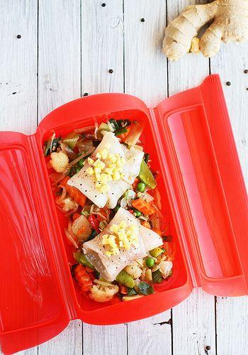 rollitos de pescado con verduras a la oriental_molde lékué by Lovefood.es, via Flickr